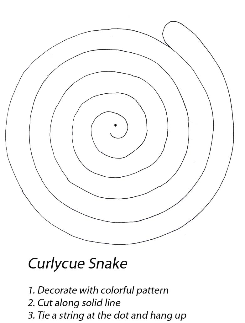 curly cue snake
