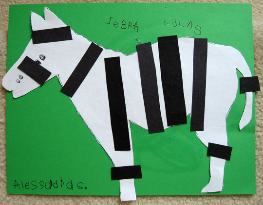 A Zebra's World